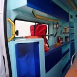 Allestimento Ambulanza Composite Alea