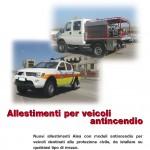 Allestimenti Veicoli protezione civile
